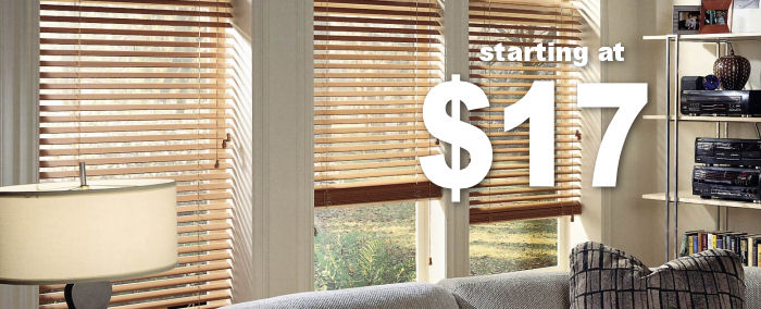 Dover Basics Faux Wood Blinds