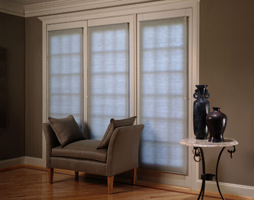 Graber Crystal Pleat Cellular Shades With Facets 3 8 Inch