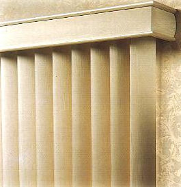 Super Value Vertical Blind with Aspen Fabric Vanes
