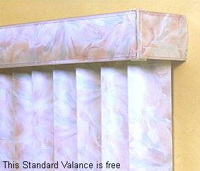 Super Value Vertical Blind With Metallics Pvc Vanes