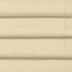 Graber Fresco Teardrop Looped (Hobbled) Roman Shades with Versaille Fabric