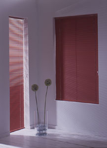 Graber 1 Inch Vinyl Mini Blind High Gloss