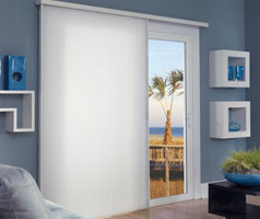 "Hotblinds Premier Cellular Slider with 3/4"" Single Cellular Blackout Room Darkening Fabric"