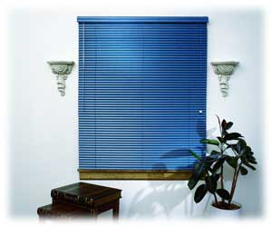 "Basics II 1"" Privacy Aluminum Mini Blind"