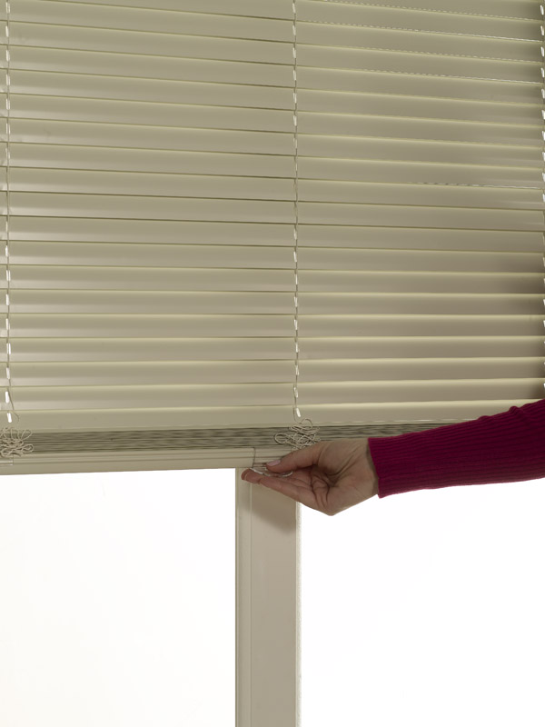 Essentials One Touch Cordless 1� Aluminum Mini Blind