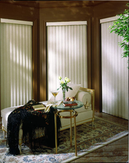 Super Value Vertical Blind with Princeton Fabric Vanes