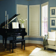 traditions, 1 inch, wood blinds