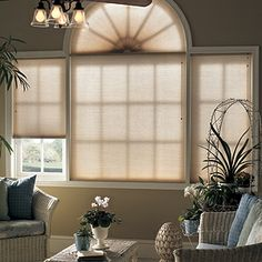 Graber Crystal Pleat Cellular Shades With Daydream 3 8