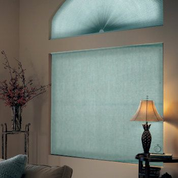 "Graber Crystal Pleat Cellular Shade with Facets 3/8"" Double Cell Light Filtering Fabric"