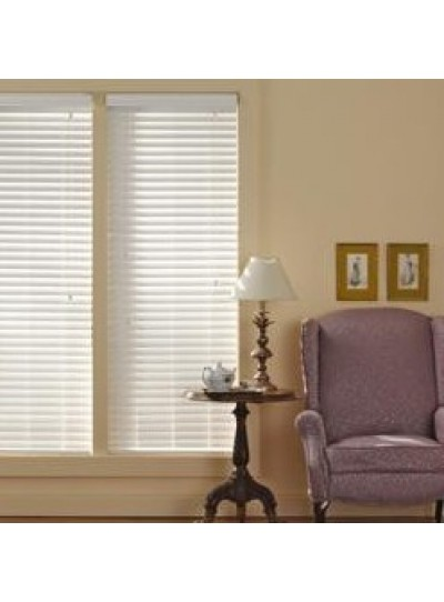 Graber Simple Selections 2 Inch Faux Wood Horizontal Blind