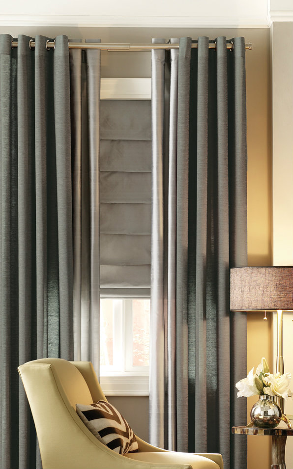 Designer Ii Hobbled Style Roman Shades Group A Fabrics
